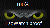 100 % EsoWatch proof