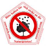 Bitte halten Sie sich strikt an die Naturgesetze!