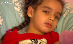 Bild der kleinen Aliana. Verlinkt ist eine Reportage bei RTL