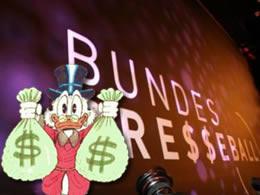 Geldadel auf dem Bundespresseball