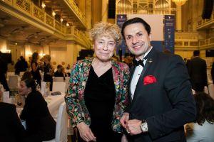 Schubart mit Gesine Schwan auf der Cinema for Peace Gala