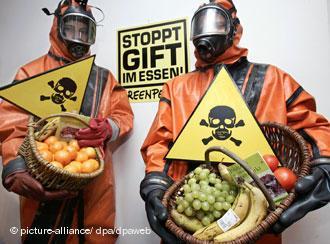 Greenpeace macht Stimmung gegen Pestizide.