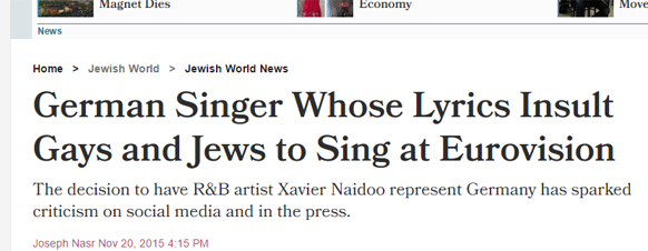 Titel bei Haaretz
