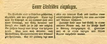 Steckrübenwinter 1916