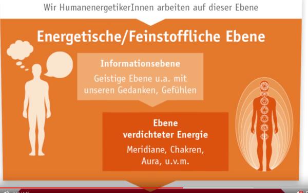 Screenshot aus Video, Energetiker arbeiten auf feinstofflicher Ebene
